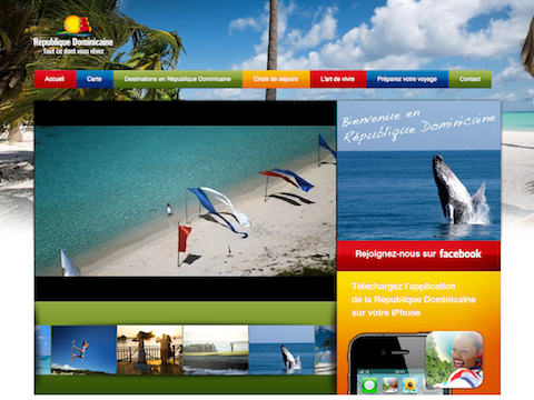 R publique dominicaine nouveau site internet pour la - Office de tourisme republique dominicaine ...